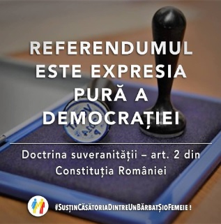 Referendumul este legal
